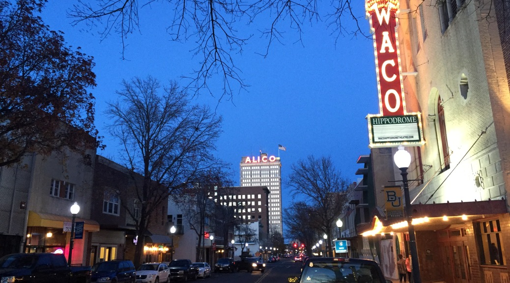 Downtown Waco, Texas