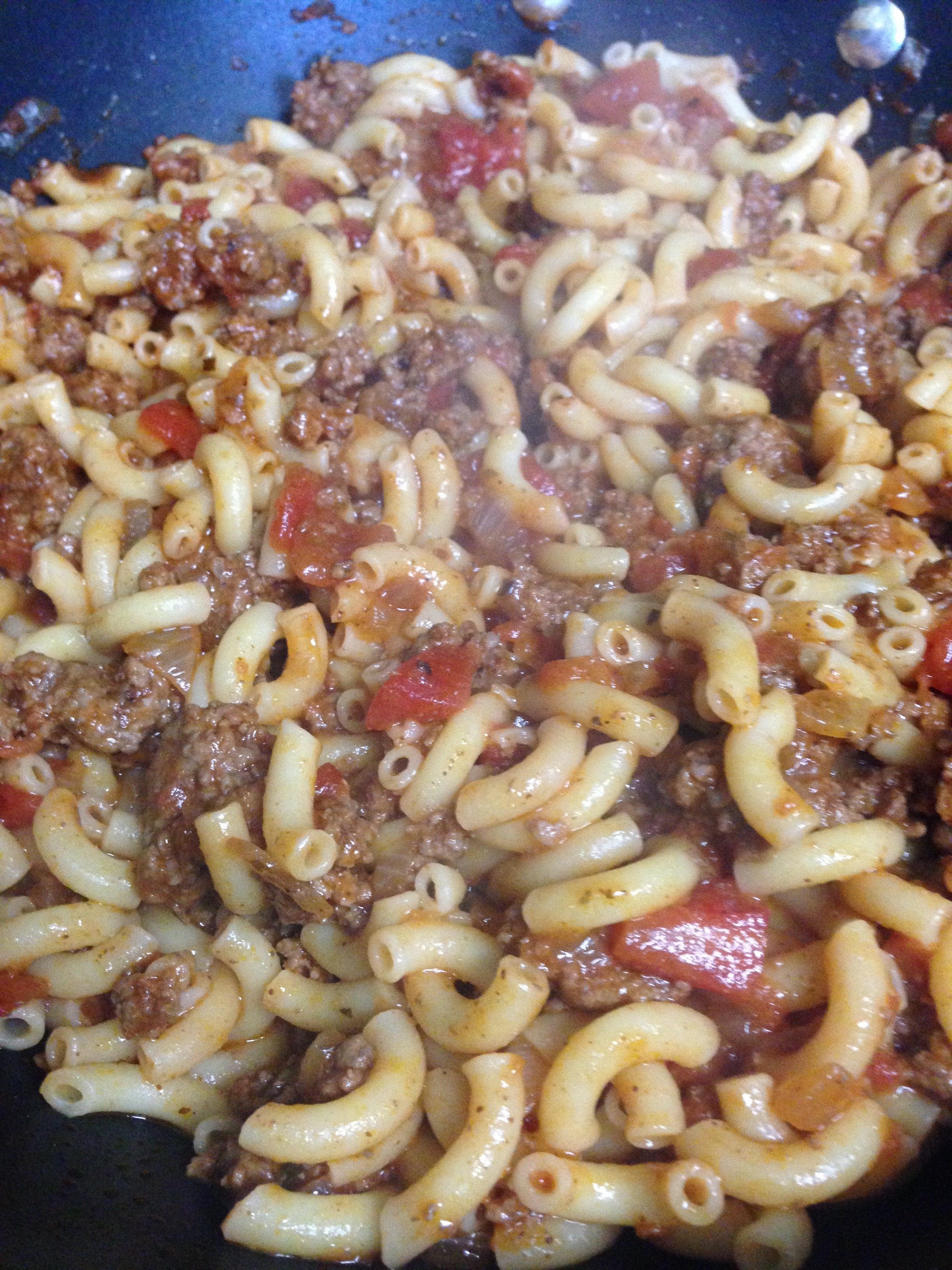 My grandmother's Texan Goulash
