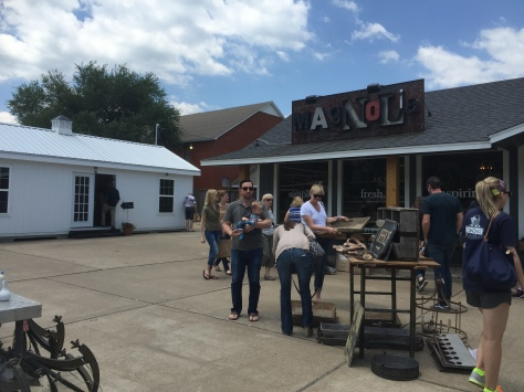 Chip and Joanna Gaines' 'Little Shop on Bosque' in Waco, Texas on www.PieLadyLife.com