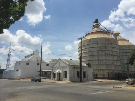 Magnolia Market silos coming along! Photo taken August 2016 www.PieLadyLife.com