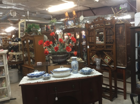 A glimpse inside the Cedar Chest Antique Mall. This place is an antique lovers dream! www.PieLadyLife.com