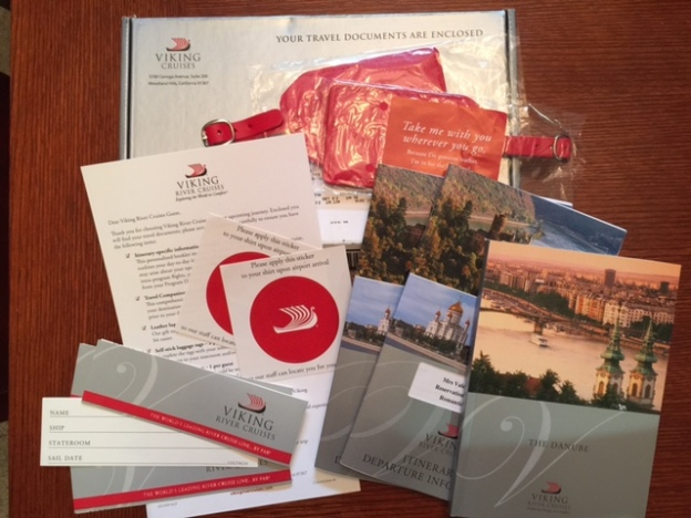 What's in Viking River Cruise travel documents?