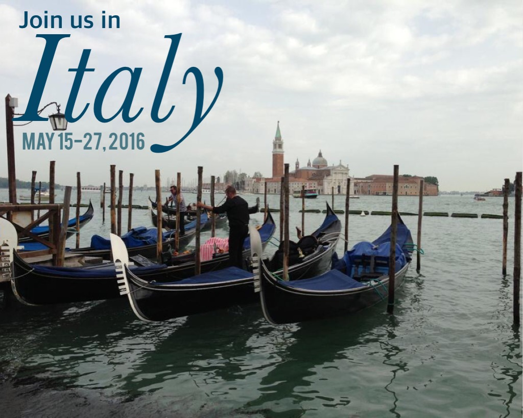 Join us in Italy May 15-27, 2016! Visit www.PieLadyLife.com for details of our small group food and wine tour!