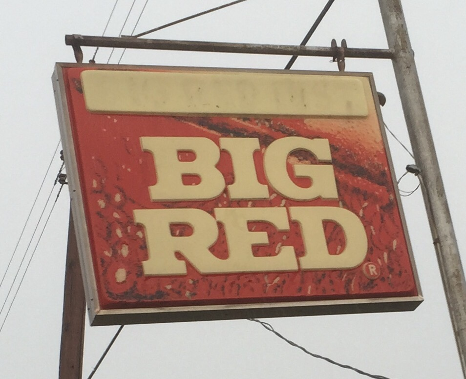 The old Big Red Distribiter building on LaSalle Ave in Waco, Texas