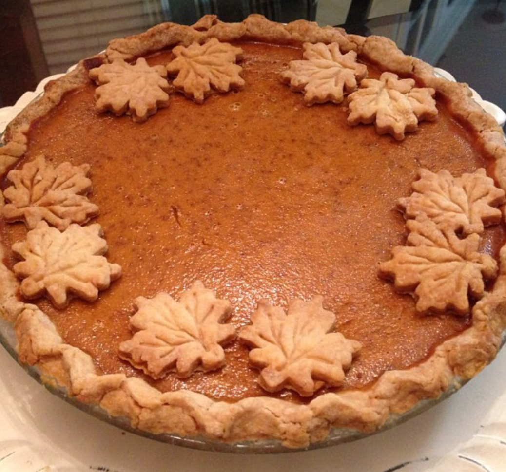 Classic Pumpkin Pie all dressed up at www.PieLadyLife.com
