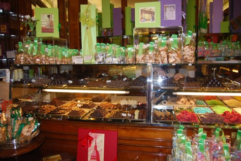 Chocolate shop in Turin, Italy