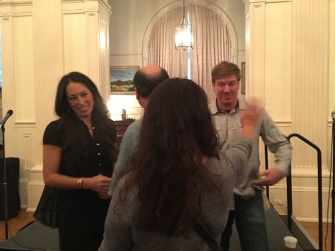 Chip and Joanna Gaines with Donald and Valerie Citrano www.pieladylife.com